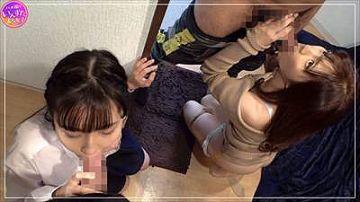 【素人】2人とも可愛い!まさかの姉妹どんぶりで姉と妹2人同時に頂いちゃうセックス動画(妹編)