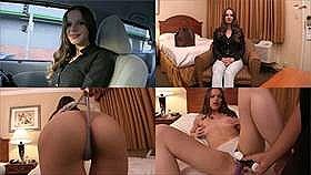 【素人】ロスの路上でナンパしたヨガのインストラクターをしている白人美女とモーテルでセックス撮影!