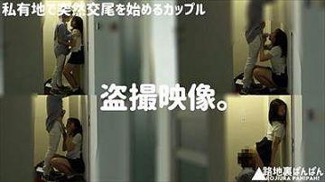 【素人】若そうなカップルが某学校の敷地内の建物でエロい事始めたのでこっそり盗撮した映像がこちら