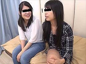【素人・本編無修正】友達のマ●コ舐めちゃったw女友達2人が一緒に3P体験してる動画が生々しくて良作な兼