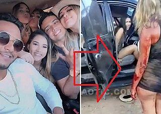 【閲覧注意】金持ち社長、女をはべらせてた車ごと事故に遭い死亡…