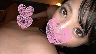 【エロ動画 素人】 18歳で関西弁の可愛い女の子!! キツキツま〇この激カワ制服美少女に生ハメ