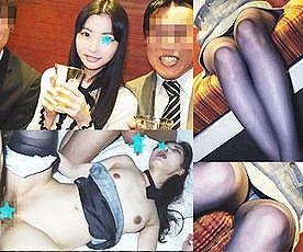 【エロ動画 素人】 外資系アパレルブランドの美人OLと忘年会で乱交ハメ撮りww