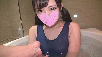 【エロ動画 素人 高画質】 アイドル級の美少女でJ〇リフレギャルに中出しハメ撮り