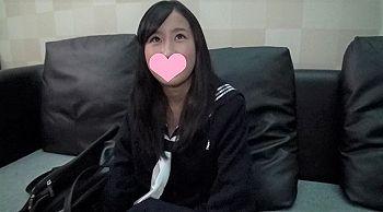 【エロ動画 素人】 超ロリ系の黒髪制服美少女をハメまくるwwwww