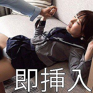 【エロ動画 素人】 20歳の制服美女は前戯より挿入感がお好きなようで即ハメしてみましたwww
