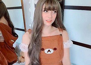 【無修正】スタイル抜群な天使級美少女が美マ〇コにおもちゃズボ入れのオナニー自撮り