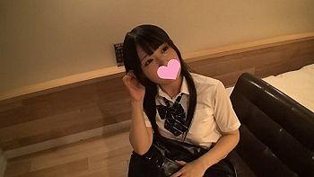 【エロ動画 素人】 めっちゃエロい体をした黒髪ロングの巨乳女子校生とハメ撮りwww