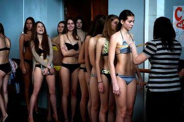 【画像】ロシアの女子校の健康診断、エチエチすぎる