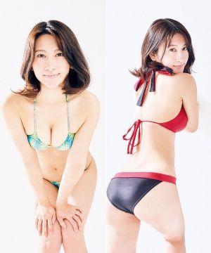 【画像】ボインボインの水着女子大生wwwww