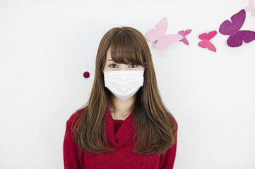 【画像】マスク女子、下のマスクがスケベすぎるwwww