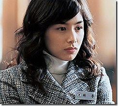 『オールドボーイ』のヒロインだった韓国女優、カン・ヘジョンのオッパイヌードがエロいセクシーGIFwww