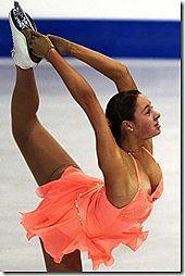 フィギュアスケートで、乳首ポロリやオッパイポロリしてるセクシー画像www