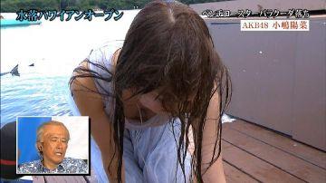 芸能人の胸チラハプニングが抜けるTVエロ画像20枚