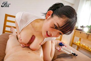 桃園怜奈Fitch復帰第二弾「桃乳パイズリマニアックス」吉村卓初参戦!!