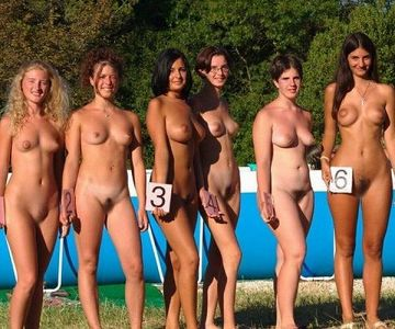 【エロ画像】海外の「全裸ミスコン」とかいうガチ天国なイベントwwwwww