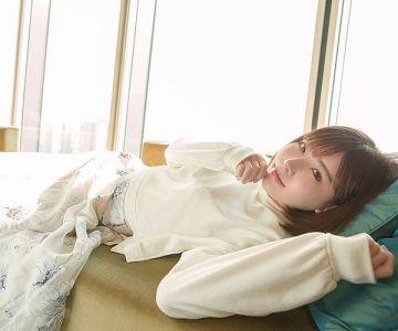 【Eimi(深田えいみ)】キュートな微笑みが眩しい美人さんは全身舐められたりキスされるのが好きだという全身性感帯タイプ