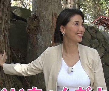 36歳になった橋本マナミの野外おっぱいロケ