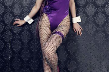 バニーガールのハイレグな股間エロ画像