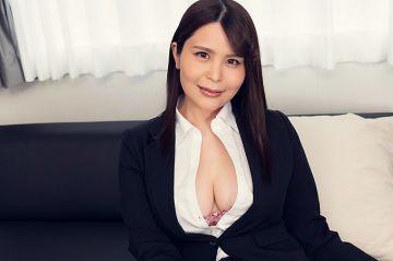 美雲あい梨 ムチムチ巨乳女上司と三発連続中出しセックス!