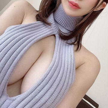 おっぱいの谷間が丸見えな童貞を殺すセーターでお姉さんに誘惑されたい
