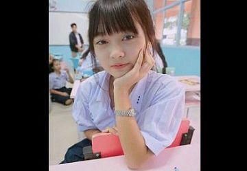 ‹無・個撮›微笑みの国タイの清純ロリJKのオナニー自撮り動画がネットに流出してクラスメート騒然!