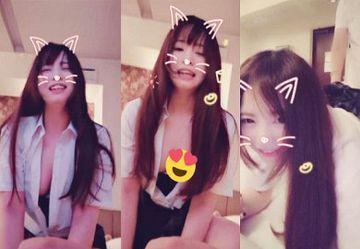 ‹無・個撮›制服巨乳娘が「SNOW」でネコ耳加工したハメ撮りセックス動画がネットに流出!