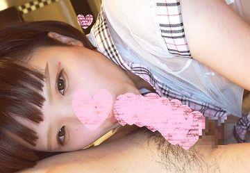 ‹無・個撮›「イッちゃうよぉ♡」黒髪ショトカのロリ娘のんちゃん19歳が制服コスで中出しセックス!
