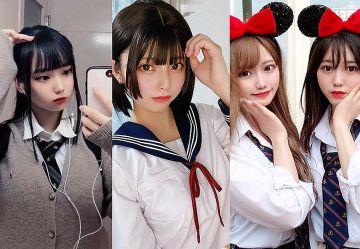 【TikTok】カワイイJK限定!制服美少女のエロカワぬっきとっく動画まとめ!