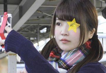 【電車チカン】元ミスヤング〇〇ファイナリストのモデルJKに2連続中出しw