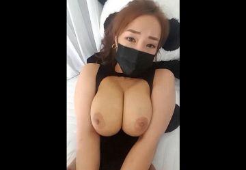 【無・亜物】ムチムチ韓国BJ娘『헬세경(ヘルセギョン)』乳揺れ擬似セックスw