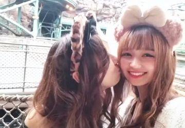 ‹百合›何時間でも見ていられるカワイイJC・JK女の子同士の濃厚ディープキス映像www