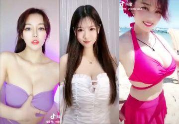 ‹TikTok›アジアの美女・ギャルたちがSNSにおっぱい晒してセクシーダンスwww