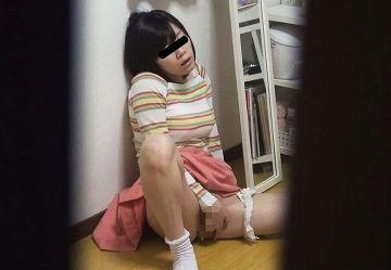 ‹盗撮›お兄ちゃん大好きブラコンのロリJC・JKが兄の部屋に忍び込んでオナニーwww