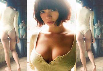 ‹芸能人›池田エライザ(23)の即ハボおっぱいで勃起しない男ゼロ人説www
