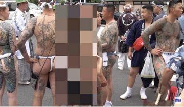 【激写】 ヤクザの女がお祭りで脱いだ結果がこちらwwww(※画像あり)