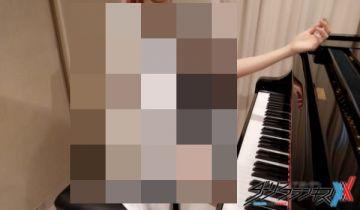 【画像】おっぱいピアノさん、ついにほぼ全裸wwwwwwwww
