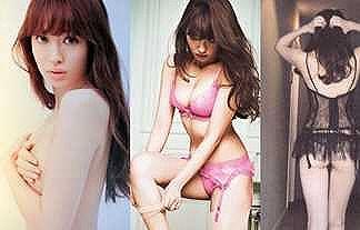 【画像】小嶋陽菜さん、お尻におっぱいに乳首まで晒して必死過ぎwwwwwwww