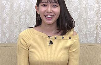 【画像】めざましイマドキガール・志田音々(23)が朝からニットで乳首ポッチwwww