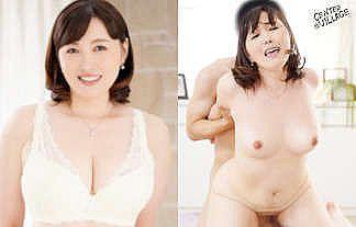 40歳Fカップおっぱい・100cmの尻・65cmのウエスト・性欲の塊な人妻AVデビューwwwwww