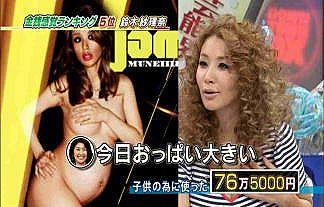 【驚愕】鈴木紗理奈(39)って実は脱いでいた…(※マタニティヌード、ほかお宝エロ祭り) 画像18枚§