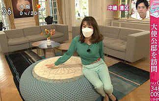 【あさイチ】NHK・中川安奈アナ(27)が朝からパツンパツンなニットおっぱいとプリ尻を晒してしまうwwwwww