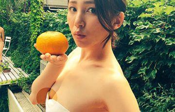 吉川友、ピンク色の乳輪見せてしまうwwwwwww写真画像