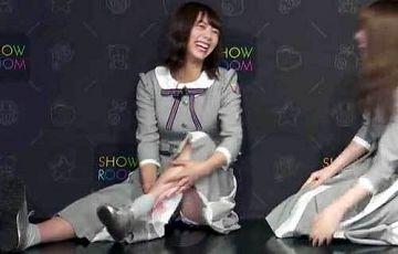 乃木坂46北野日奈子、純白パンチラをSHOWROOMで完全晒してしまう