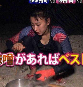 浅田舞の乳デカすぎてほぼ性行為【GIFあり】