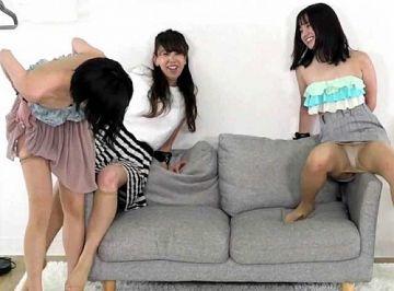 西永彩奈、純白パンチラ!ミニスカずり上がってパンティー丸見え股間