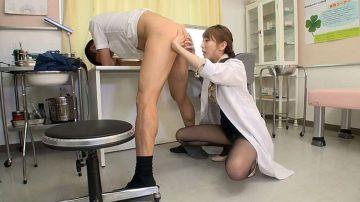 [動画]【希咲あや】男性患者の尻穴をジックリ診察して辱める変態女医!検査と偽ってアナルを弄ぶセクハラ治療