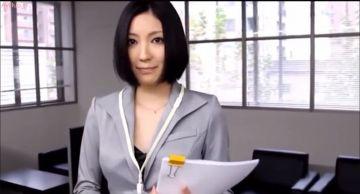 【瀬奈涼】美人秘書の秘密の裏お仕事!社長の性奴隷として調教されオフィスで全裸オナニーアクメ