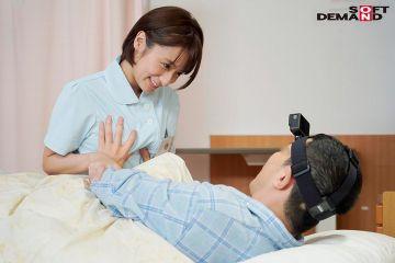 【吉良りん】入院患者を元気付ける激カワ新人ナースの騎乗位セックス治療!真面目で優しい白衣の天使の性交処置