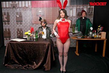 【妃月るい】RPGの酒場のバニーガールにぱふぱふして貰いたい!女戦士、町娘、王女様ともヤリまくるハメハメクエスト